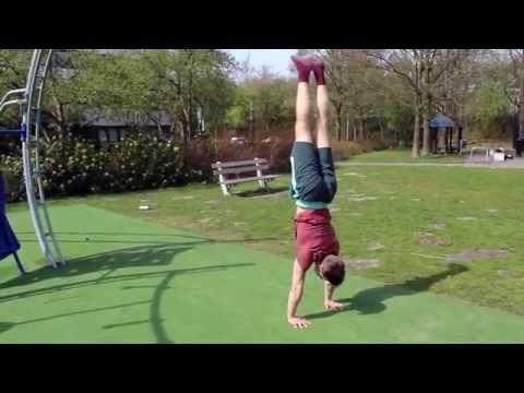 Handstand leren: 5 stappen