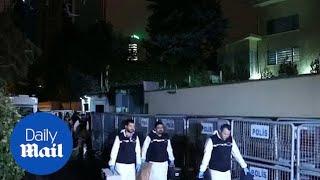 Turkish investigators leave Saudi consulate in Istanbul