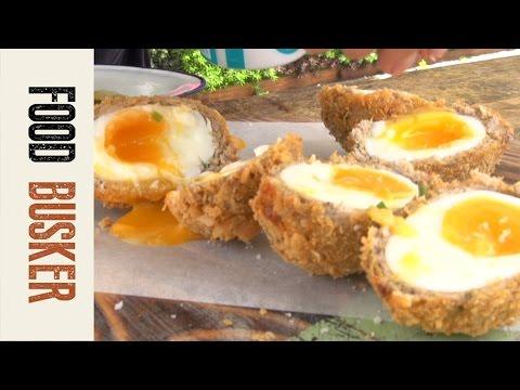 Katsu Curry Scotch Egg | Food Busker