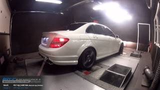 Reprogrammation Moteur Mercedes C63 AMG 457hp (Réel 416hp) @ 497hp (Stage 2) par BR-Performance