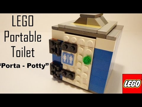 How To Build A Lego Portable Toilet | How To Save Money ...