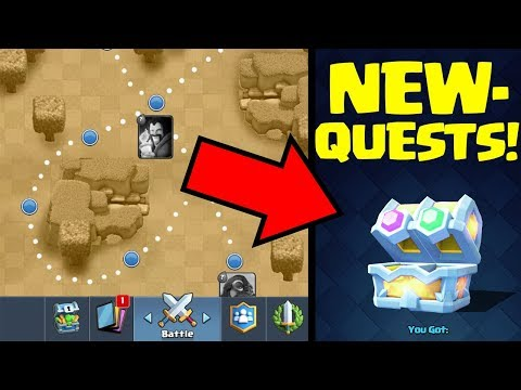 QUESTS COMING to Clash Royale! New Game Mode confirmed in October 2017 UPDATE!