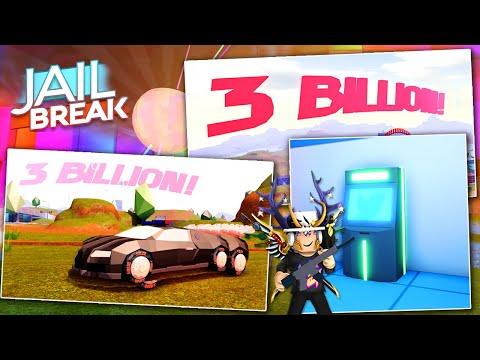 JAILBREAK THREE BILLION VISITS CODE! JAILBREAK 3 BILLION CODE UPDATE! (ROBLOX)