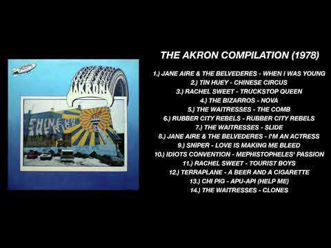 """V/A - """"The Akron Compilation"""" (FULL COMPILATION 1978)"""