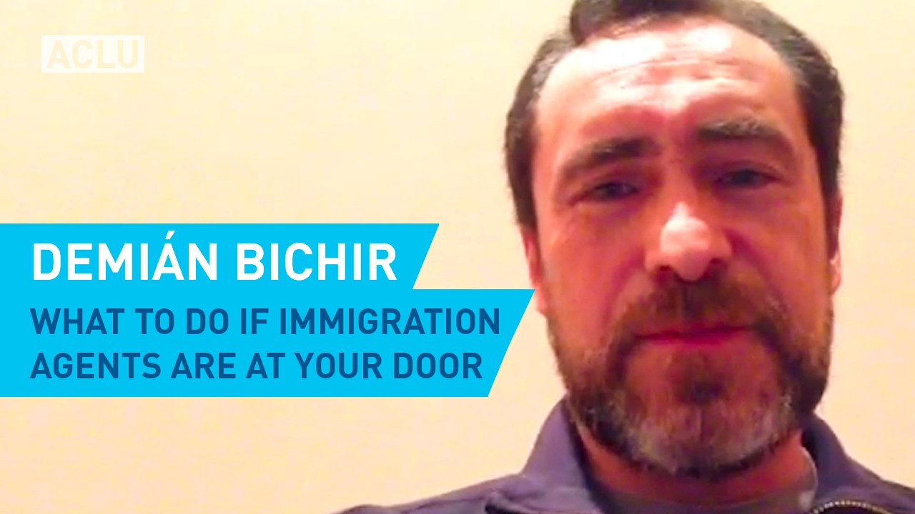 Demián Bichir: What To Do If Immigration Agents Are At Your Door ...
