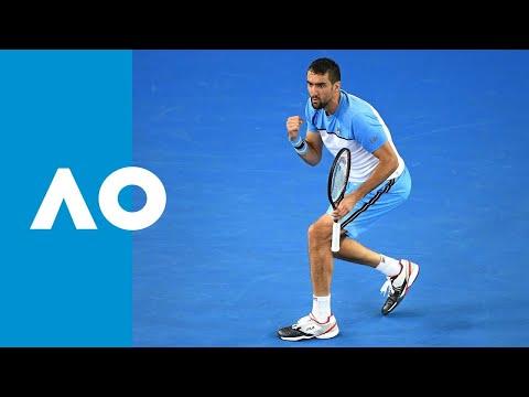 Marin Cilic v Bernard Tomic match highlights (1R) | Australian Open 2019