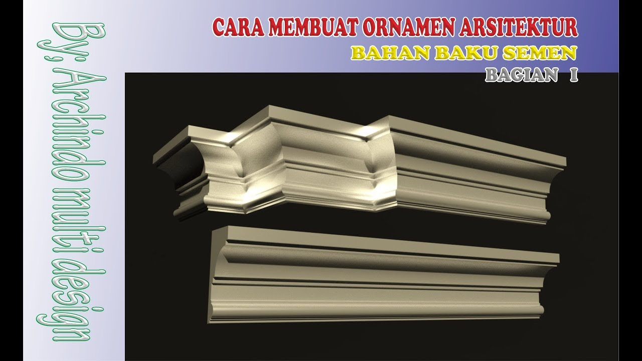 Cara Membuat Listplank Beton Part 1 Youtube