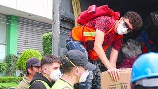Una SEMANA después del TEMBLOR en MÉXICO | Como siguen las cosas?