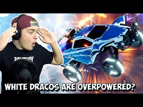 TITANIUM WHITE DRACOS ARE OVERPOWERED! | Rocket League