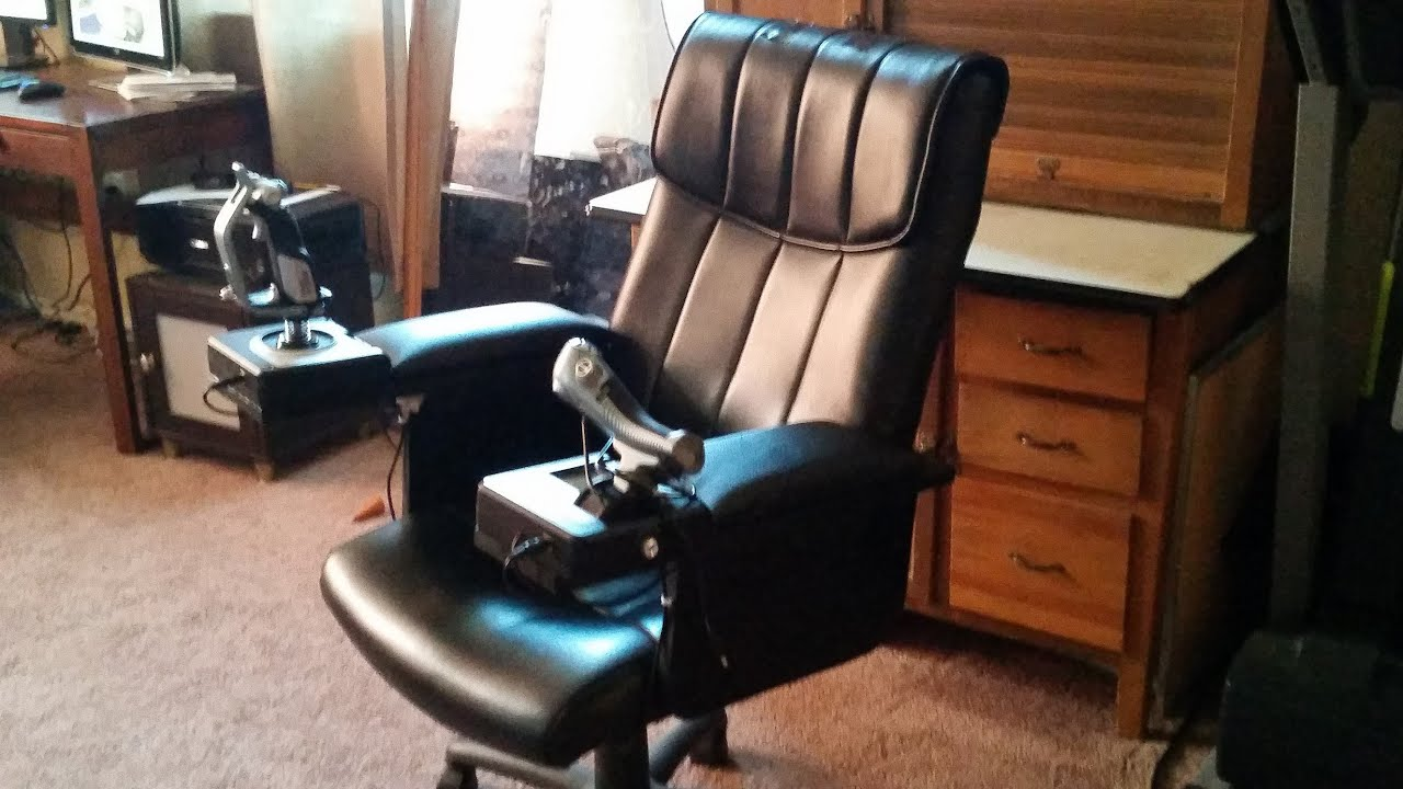 Flight Sim Chair Home Decor