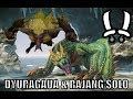Monster hunter Online - Dyuragaua & Rajang Solo - Adept Dualblades