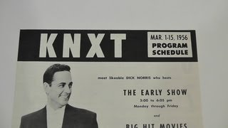 March 1956 KNXT CBS Television Affiliate Los Angeles Program Schedule with Sponsor Listings