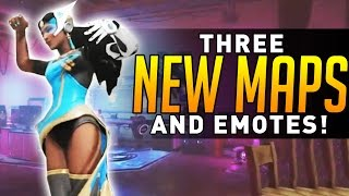 Overwatch - NEW MAPS REVEALED + DANCE EMOTES! (Anniversary)