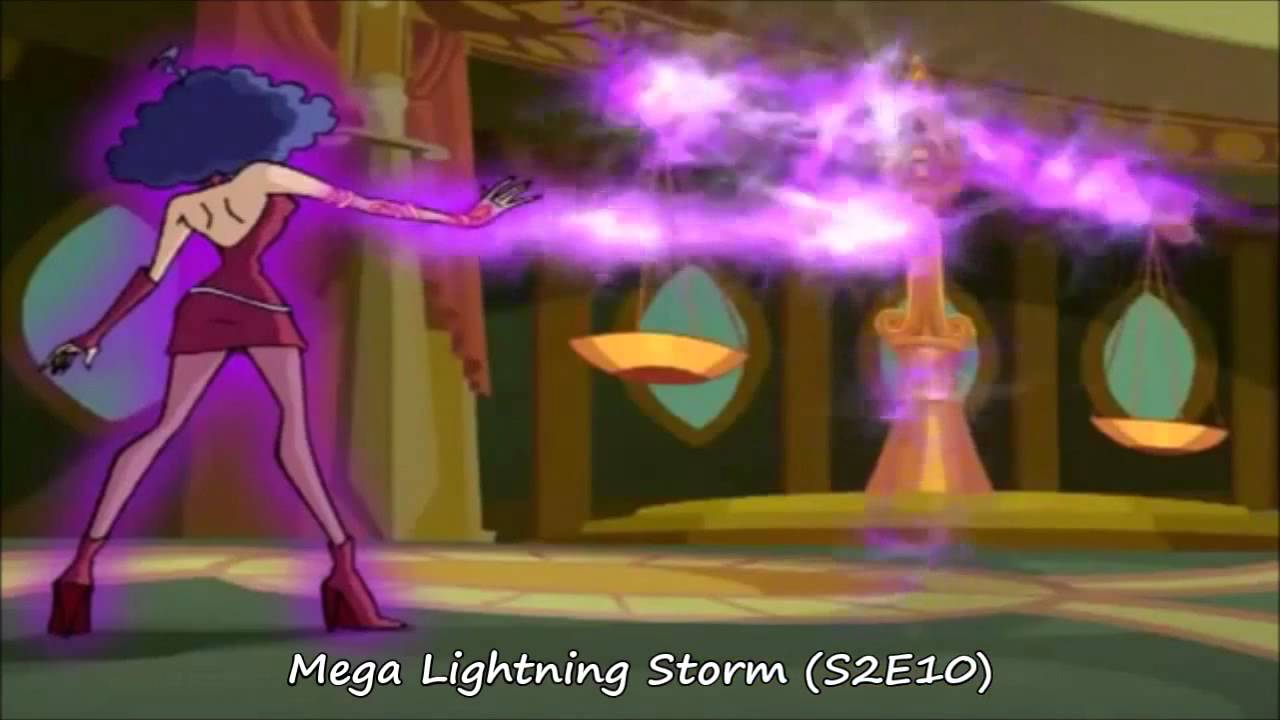Winx Club : Stormy ALL GLOOMIX SPELLS and transformation ...