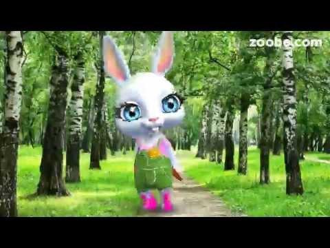 ZOOBE зайка Поздравление с 1 Апреля - Смотреть видео без ограничений