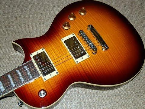 Обзор гитары ESP LTD EC-401-VF (видео 2009-го года)