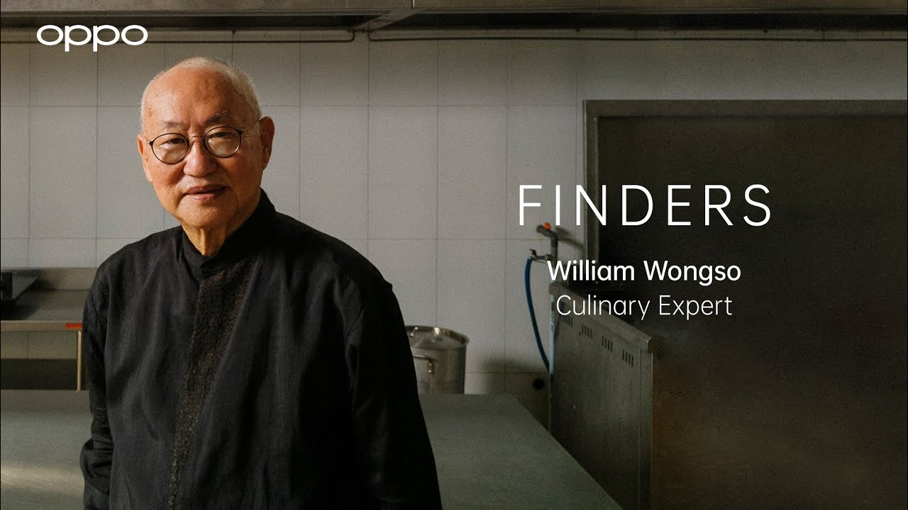 OPPO Find X3 Pro 5G   Finders: William Wongso, Culinary Expert.