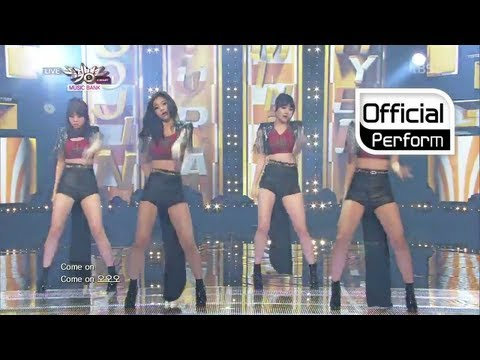 Girl's Day(걸스데이) - Female President(여자대통령) live on Music Bank (Jul 12, 2013)