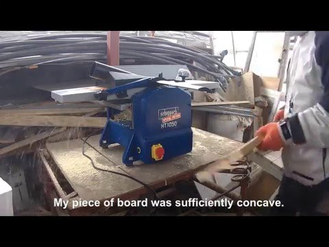 Overview Of Surface And Thickness Planer Scheppach Ht 1050 Youtube