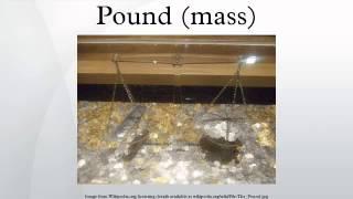 Pound (mass)