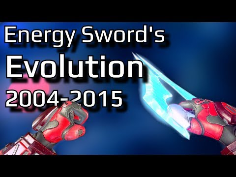 The Evolution Of Halo's Energy Sword   Let's Take A Look At Every Version Of The Halo Energy Sword