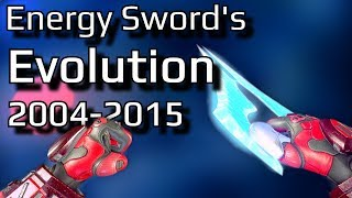 The Evolution of Halo\'s Energy Sword | Let\'s take a look at every version of the Halo Energy Sword