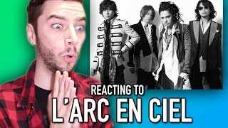 Watch as I REACT to a little known band called L' ARC EN CIEL! REAC...