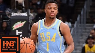 Team World vs Team USA Full Game Highlights / Feb 16 / 2018 NBA Rising Stars Game thumbnail
