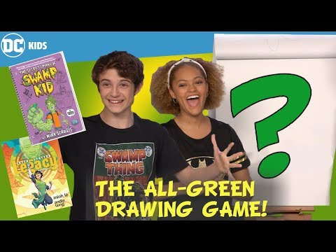The All-Green Drawing Episode! | DC Kids Show
