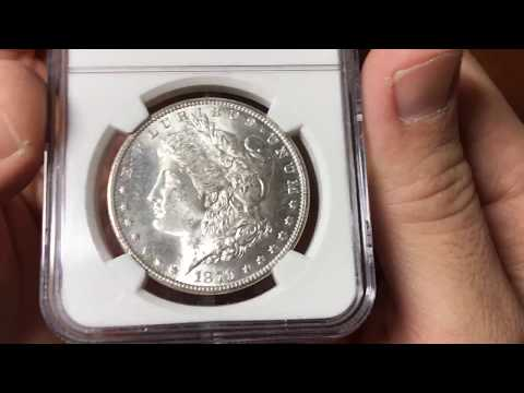 1879 S Morgan Silver Dollar NGC Graded - The Reason We Need Split Grading On Slabbed Coins.