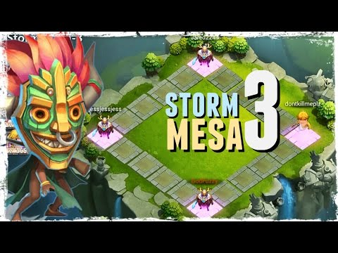 Castle Clash: Storm Mesa 3 - Team Dungeon