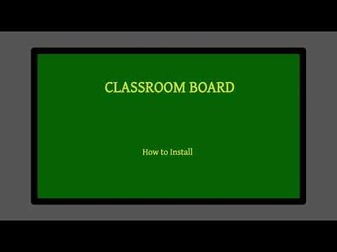 Classroom Board_ How to install application