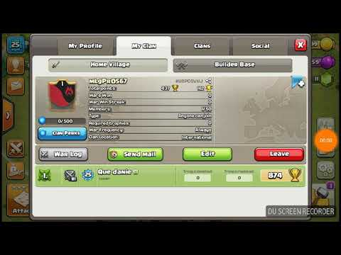 Join my clan the early one got free co leader or elder join now or you will be member no elder or co