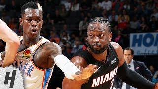 Miami Heat vs Oklahoma City Thunder - Full Game Highlights | March 18, 2019 | 2018-19 NBA Season