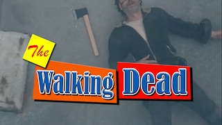 THE WALKING STEP - The Walking dead / Step by Step Mash-up