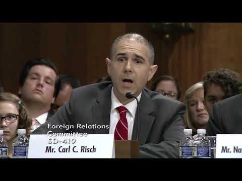 Menendez Questions Callista Gingrich & Other Ambassador Nominees
