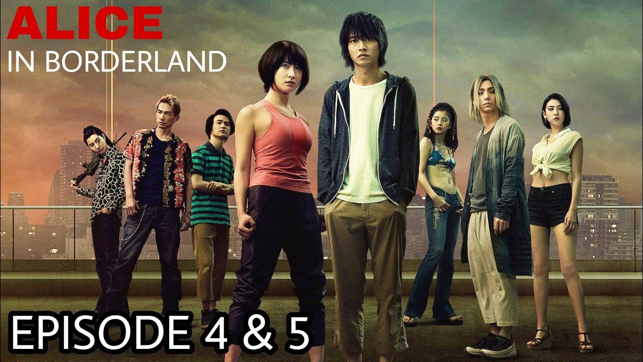 Download Alice in Borderland Episode 4 & 5 Explained in Hindi   Japanese Series Like Squid Game   Netflix