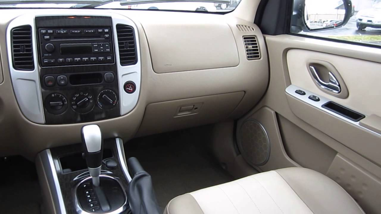 2006 Mercury Mariner White Stock 30169a Interior