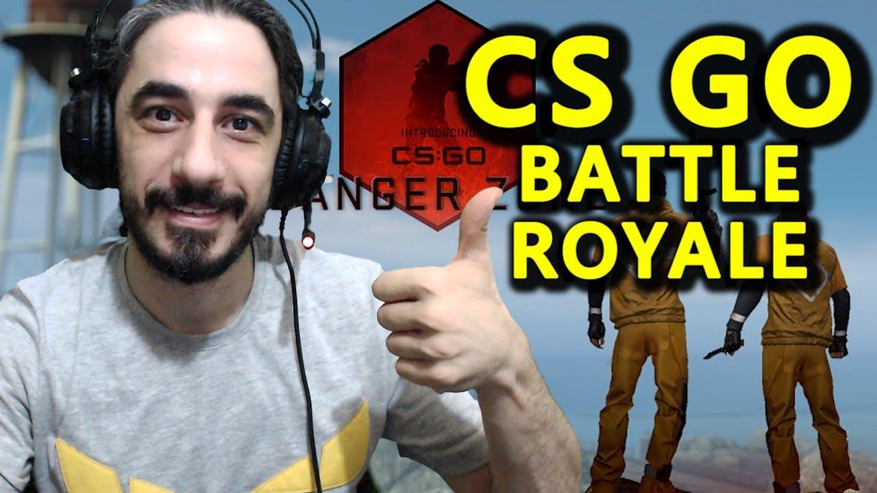 CS:GO BATTLE ROYALE (PUBG MODU)