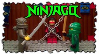 LEGO Ninjago Episode 3 Green Ninja Lloyd Rescues Samurai X