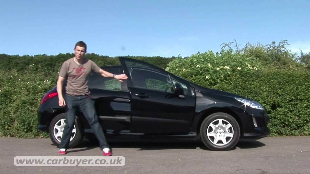 peugeot 308 hatchback 2007 2012 review carbuyer youtube. Black Bedroom Furniture Sets. Home Design Ideas