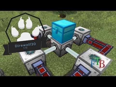 Direwolf20 1.12 | Mining Laser From Industrial Foregoing | #8 (Modded Minecraft 1.12.2)