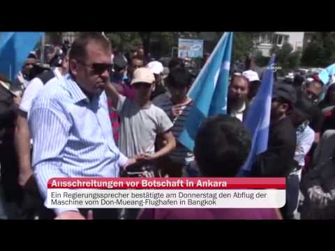 Thailand schiebt Uiguren nach China ab – Ausschreitungen vor Botschaft in Ankara