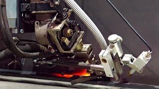 Автоматическая сварка под флюсом(Автоматическая сварка пролетной балки на портальной сварочной установке., 2016-11-24T18:09:31.000Z)
