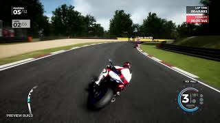 Ride 3 - Gameplay sur Brands Hatch en Yamaha R1