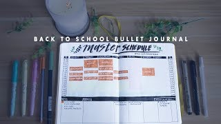 back to school bullet journaling