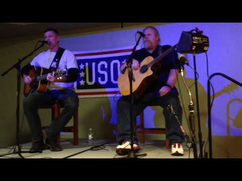 Darryl Worleys  version of Sounds Like Life to Me performed at the USO Fort Drum
