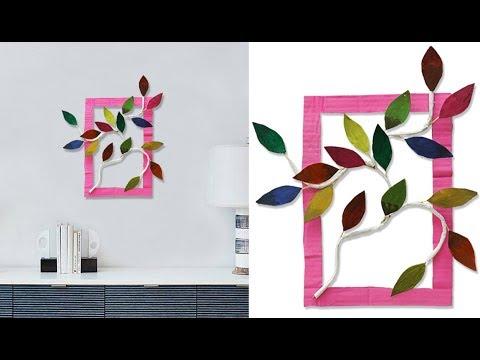 Easy DIY Wall Decoration Idea !! Best Reuse idea of Waste Paper Craft Idea !! DIY PROJECT