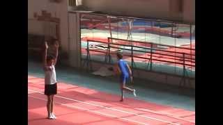Спортивная гимнастика 2 разряд. Прыжок