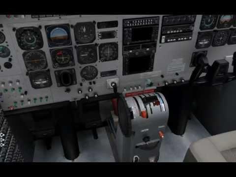 [X-Plane 10] Cessna 208B Grand Caravan Startup